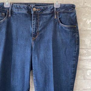Ana skinny ankle denim blue jeans